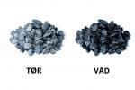 Diabas Granitskærver 5/8 mm, Løsvare